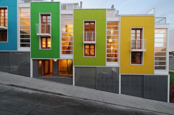 Lofts Yungay II. Вид с улицы.