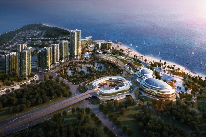 Forest City - проект нового «зеленого» города между Малайзией и Сингапуром.