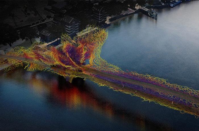 Претендент на звание лучшего проекта нового моста в Лондоне.