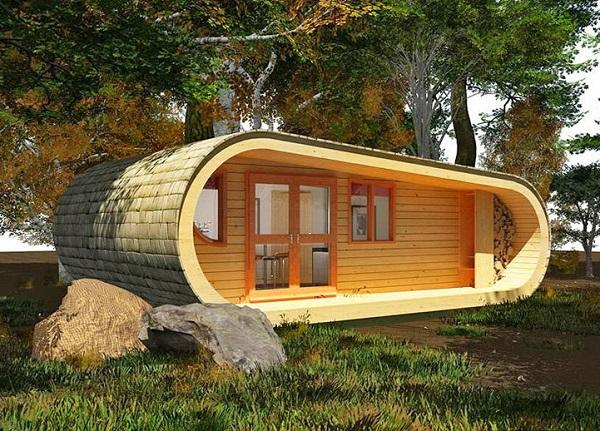 Eco Perch - вариант дачного дома.
