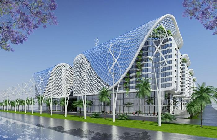 Проект архитектурного бюро Vincent Callebaut Architectures.