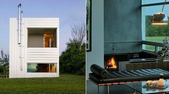 Prairie House - дом в стиле «минимализм».