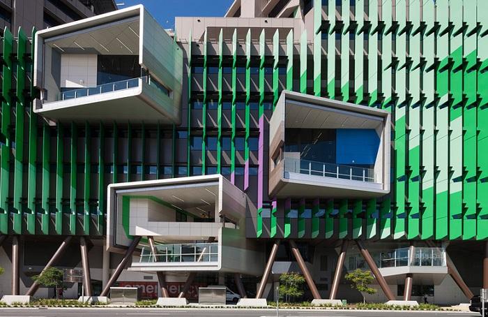 Совместный архитектурный проект фирм Lyons и Conrad Gargett.