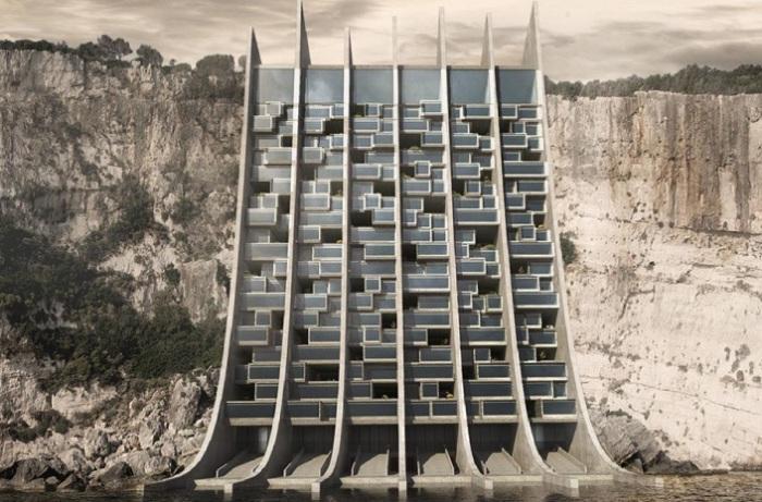 Проект распределительного центра от греческого архитектора Spiros Koulias.
