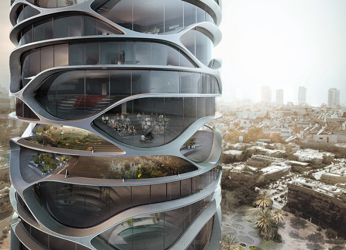 Gran Mediterraneo - проект небоскреба в Тель-Авиве.