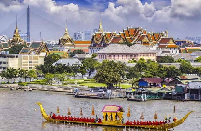 Канал Бангкока.