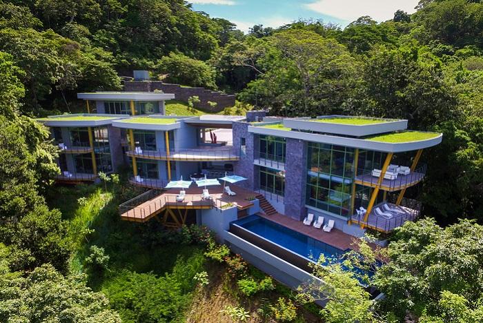Casa-Magayon - эко-вилла в Коста-Рике.