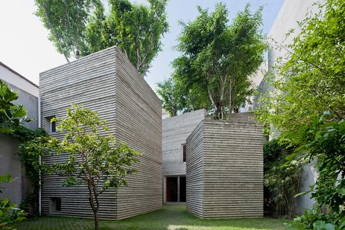 Проект архитектурной студии Vo Trong Nghia Architects.