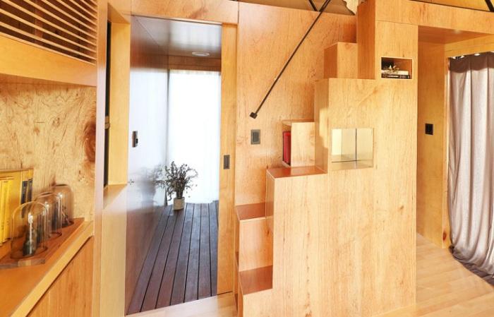 Slow Town Tiny House - домик площадью 19,8 кв. метров.