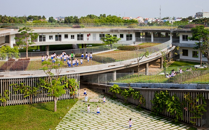 «Farming Kindergarten». Вид сверху.