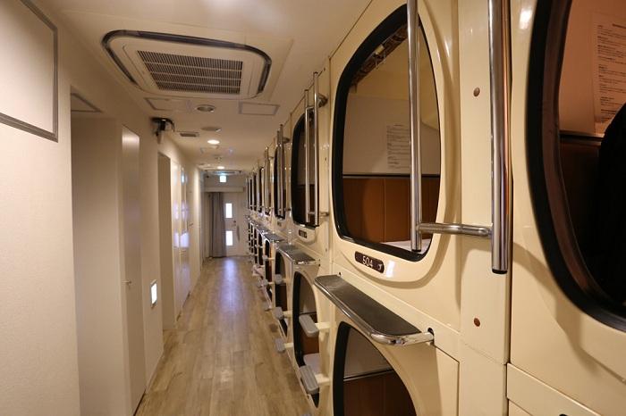 Capsulevalue Kanda - капсульный отель в Японии.