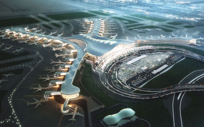 Abu Dabi International Midfield Complex - проект аэропорта в Абу-Даби.