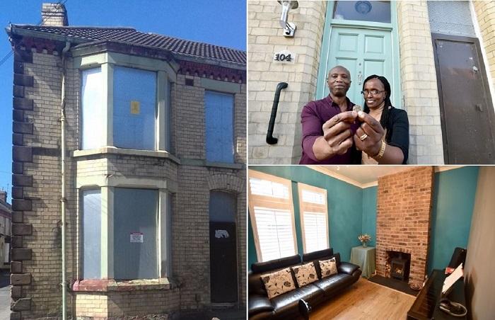 Супруги приобрели дом всего за 1 фунт стерлингов.