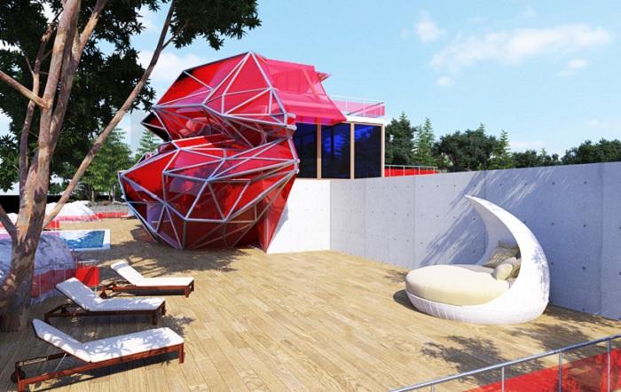 Шикарный особняк от архитектора Vasily Klyukin.