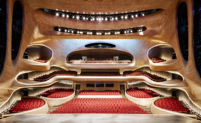Harbin Opera House. Оперный зал.