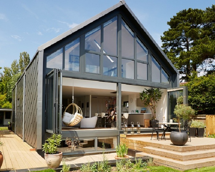 Amphibious House в Великобритании.