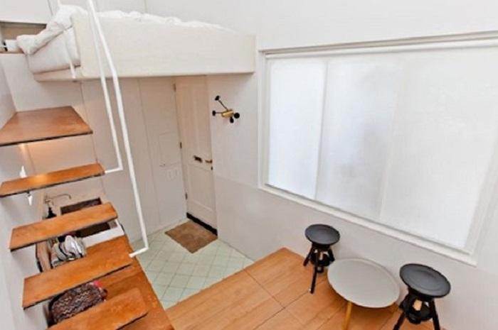Домик площадью всего 17,5 кв. метров.