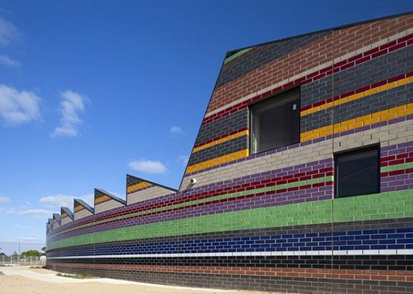 Разноцветная начальная школа Мельбурна.