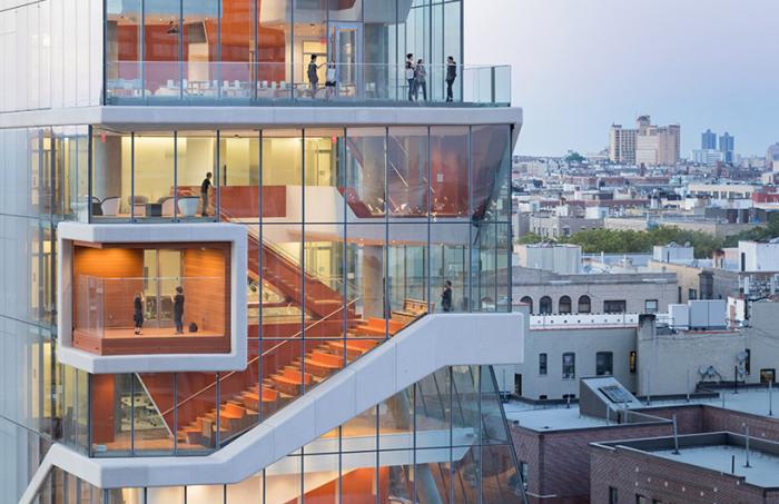 Vagelos Education Center - одно из подразделений медицинского центра в Нью-Йорке.