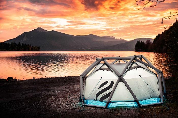 Палатки на все случаи жизни.