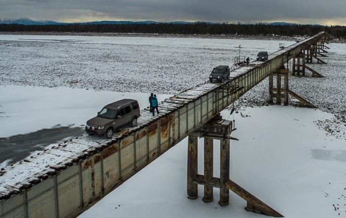 Куандинский мост - самый опасный мост в России.