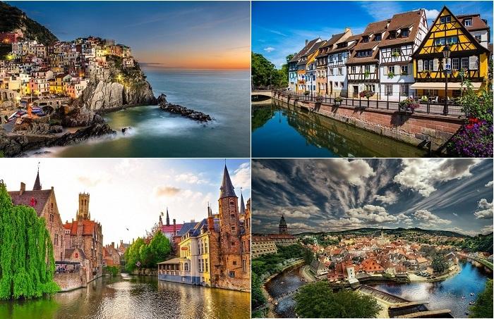 Самые живописные небольшие города мира.