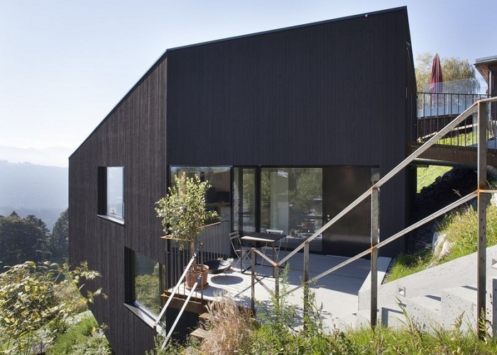 Архитекторский проект фирмы Dietrich | Untertrifaller Architects.