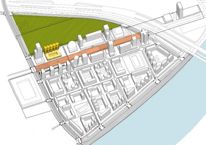 Проект реорганизации промзоны 65 га бывшего завода ЗИЛ.