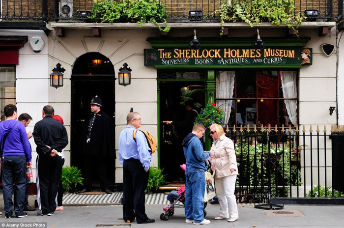 Дом-музей Шерлока Холмса.