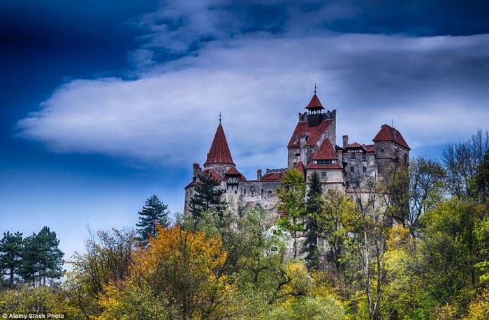 Замок Бран в Румынии.