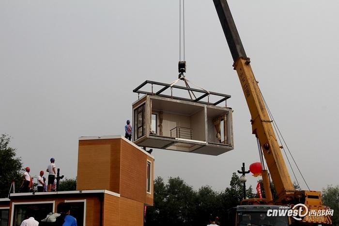 Модульный дом, напечатанный на 3D-принтере.