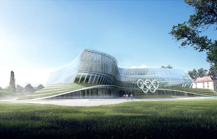 Будущая штаб-квартира Международного олимпийского комитета.