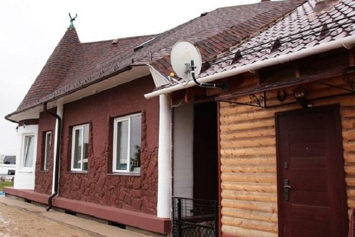 Дом, напечатанный на 3D-принтере в Ярославле.