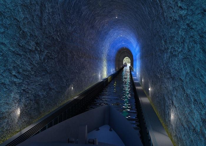 Stad Ship - проект туннеля для кораблей.