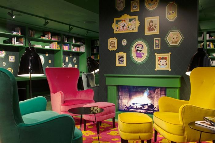 Проект офиса от дизайнерской фирмы Adolfsson & Partners.