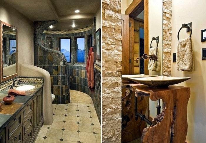 Потрясающие идеи ванных комнат, которые помогут в создании собственного уникального интерьера.