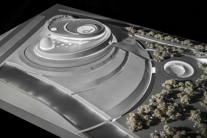 Проект строительства планетария в Шанхае.