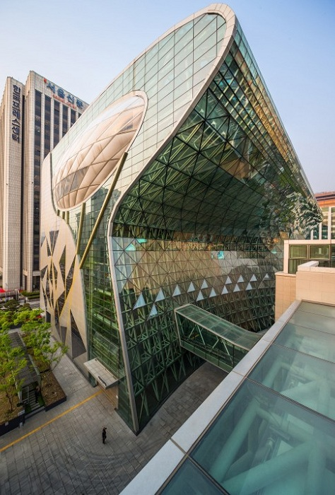 Новый корпус мэрии в Сеуле.
