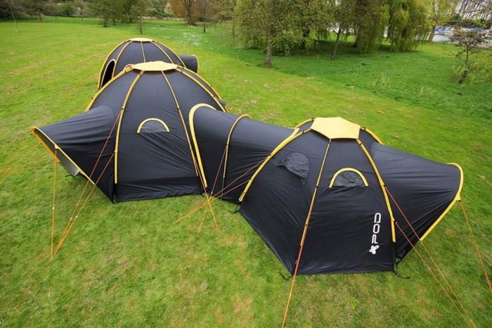 POD Tents - многоместная модульная палатка.