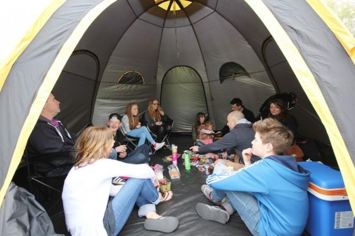 POD Tents - палатка для целой компании.