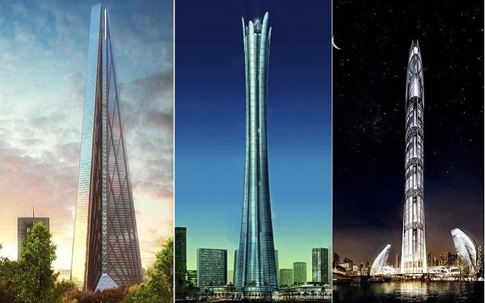 Самые высокие недостроенные небоскребы.
