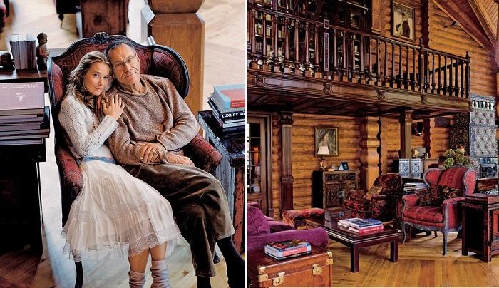 Дом Андрея Кончаловского и Юлии Высоцкой. | Фото: admagazine.ru.