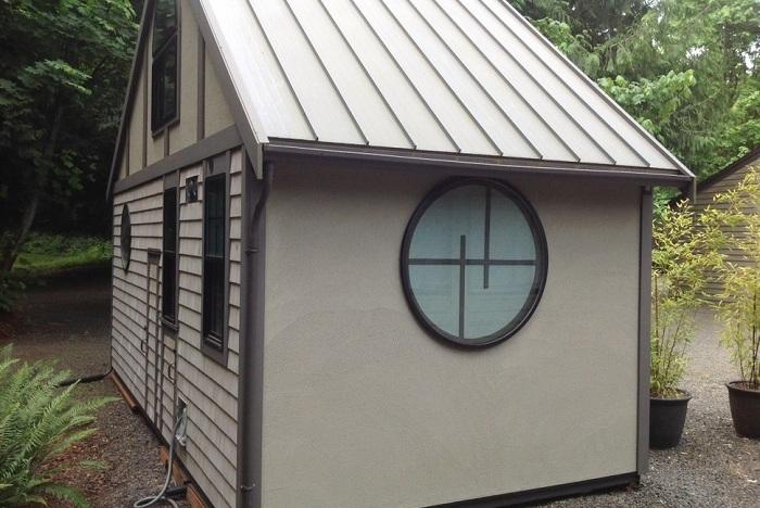 Домик, построенный дизайнером Chris Heininge