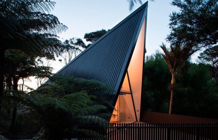 Tent House - новый коттедж архитектора Криса Тейта.