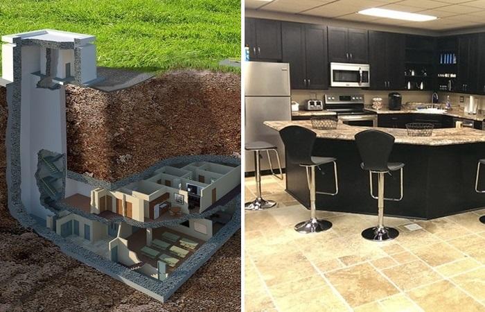 Как из ядерного бункера сделали роскошные апартаменты.