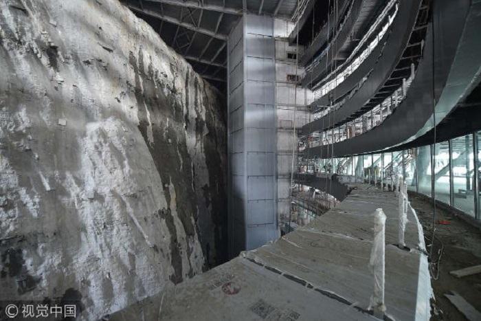 Снимок со стройплощадки Songjiang InterContinental. | Фото: iseemir.ru.