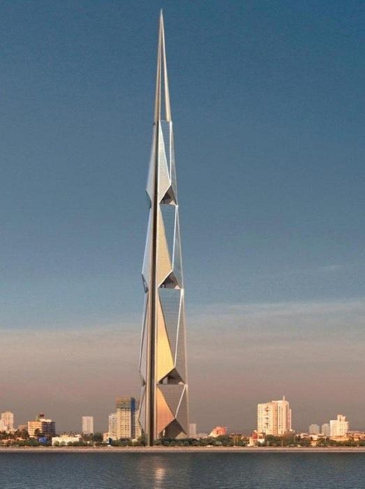India Tower - башня высотой 700 метров.
