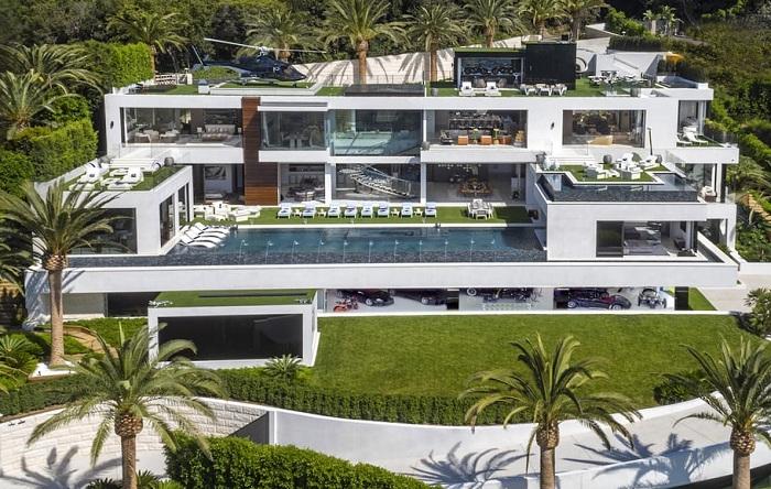 Самый дорогой особняк в США стоимостью 250 млн долларов.