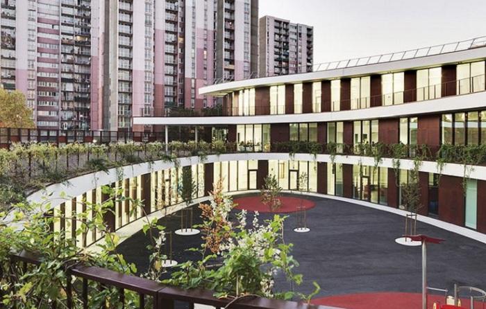 Архитектурный проект студии Mikou Design Studio.