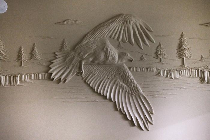Парящий орел. | Фото: berniemitchell.ca.